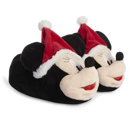 KIMBALL-55841(MISSING)-BLACK LXNOV DTR MINNIE 3D SANTA SLIPPER, GRADE UK K NE F ROI E FRIT F IB J USA 0, WK 2, £8 €10.jpg